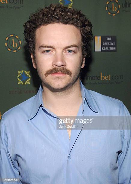 Danny Masterson during Ultimatebetcom Kari Feinstein and Mike McGuiness Host Celebrity Poker Tournament to Honor Clifton Collins Jr's Emmy Nomination...
