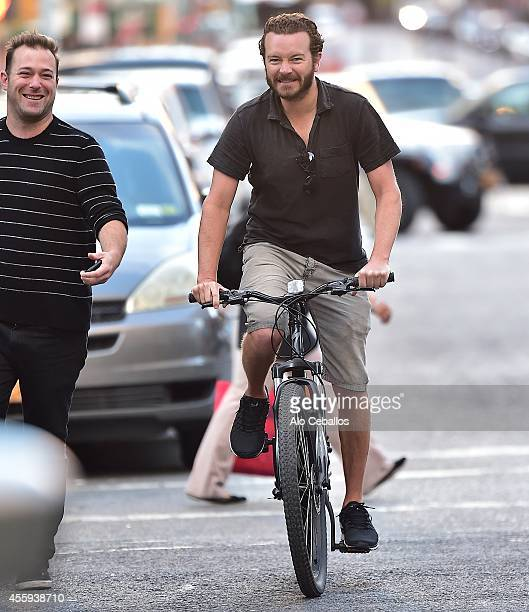 Danny Masterson is seen in Soho on September 22 2014 in New York City