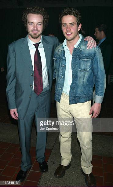 Danny Masterson Joey McIntyre during Fox Television 20022003 Upfront Party at Pier 88 in New York City New York United States