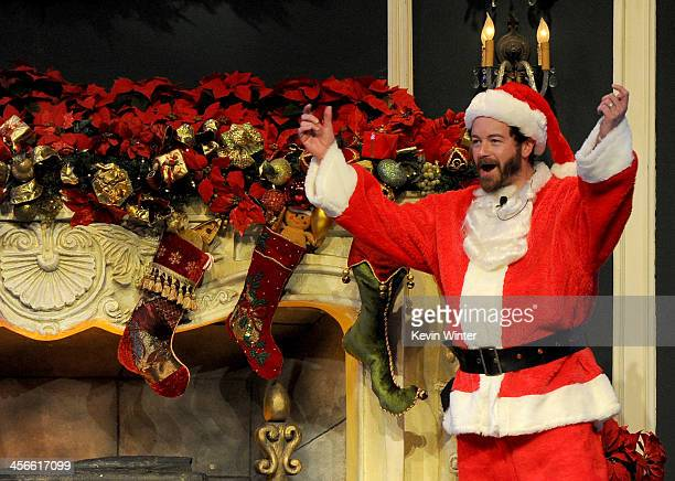 Danny Masterson performs onstage during the Church of Scientology Celebrity Centre's 21st 'Christmas Stories' at the Church of Scientology Celebrity...