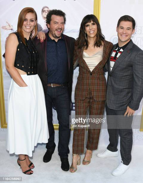 Danny McBride Cassidy Freeman Edi Patterson and Adam Devine attend the Los Angeles Premiere Of New HBO Series The Righteous Gemstones at Paramount...