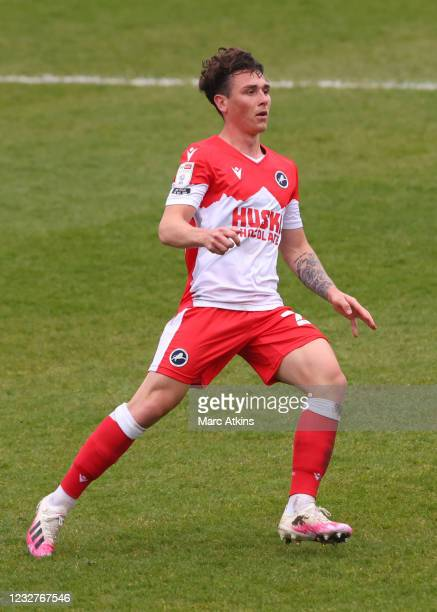 Danny McNamara of Millwall during the Sky Bet Championship match between Coventry City and Millwall at St Andrew's Trillion Trophy Stadium on May 8,...