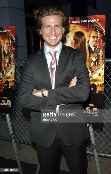 Danny Meyers arrives to the New York Premiere of Alex Rider Operation Stormbreaker held at The Intrepid Sea Air Space Museum New York City BRIAN ZAK