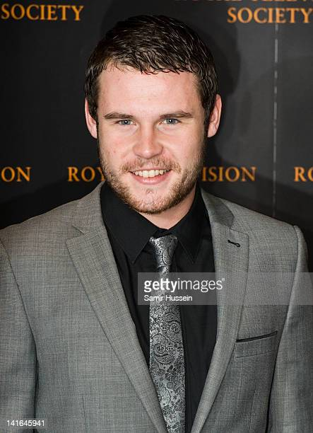 Danny Miller arrives for the RTS Programme Awards 2012 at the Grosvenor House Hotel on March 20 2012 in London England
