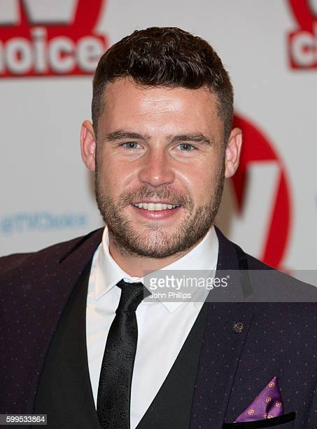 Danny Miller arrives for the TV Choice Awards at The Dorchester Hotel on September 5 2016 in London England