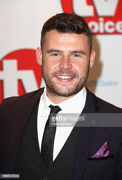 Danny Miller arrives for the TV Choice Awards at The Dorchester on September 5 2016 in London England