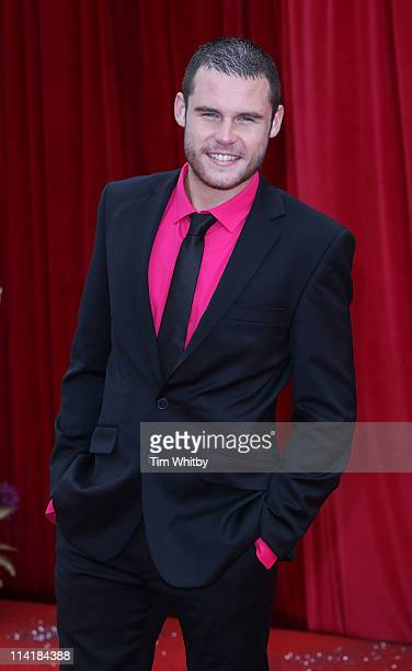 Danny Miller attends The British Soap Awards at Granada Television Studios on May 14 2011 in Manchester United Kingdom