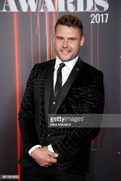 Danny Miller attends The British Soap Awards at The Lowry Theatre on June 3 2017 in Manchester England The British Soap Awards will be aired on June...