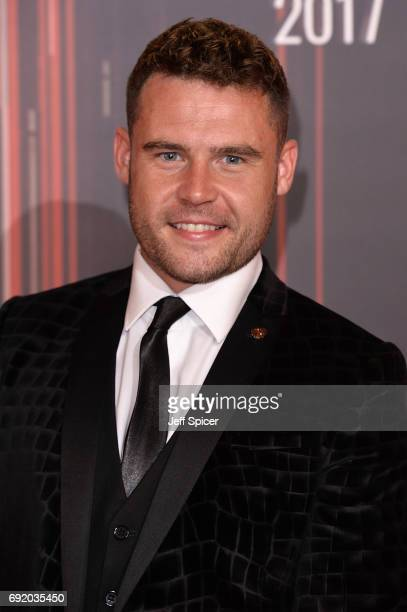 Danny Miller attends The British Soap Awards at The Lowry Theatre on June 3 2017 in Manchester England The Soap Awards will be aired on June 6 on ITV...
