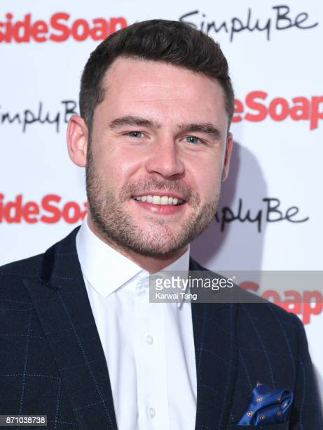 Danny Miller attends the Inside Soap Awards at The Hippodrome on November 6 2017 in London England
