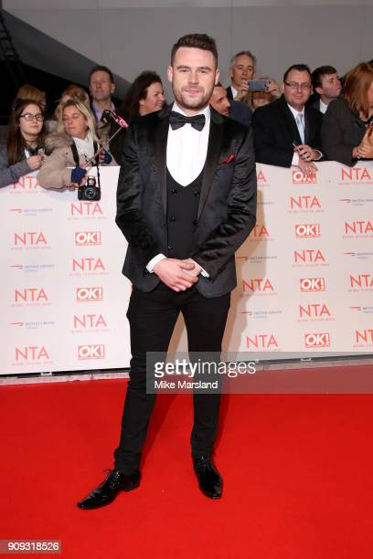 Danny Miller attends the National Television Awards 2018 at The O2 Arena on January 23 2018 in London England