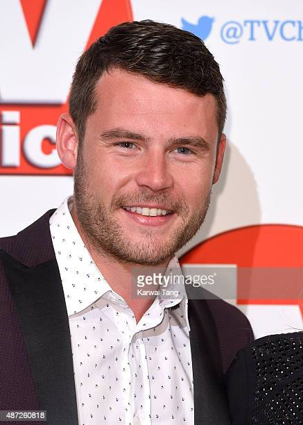 Danny Miller attends the TV Choice Awards 2015 at Hilton Park Lane on September 7 2015 in London England
