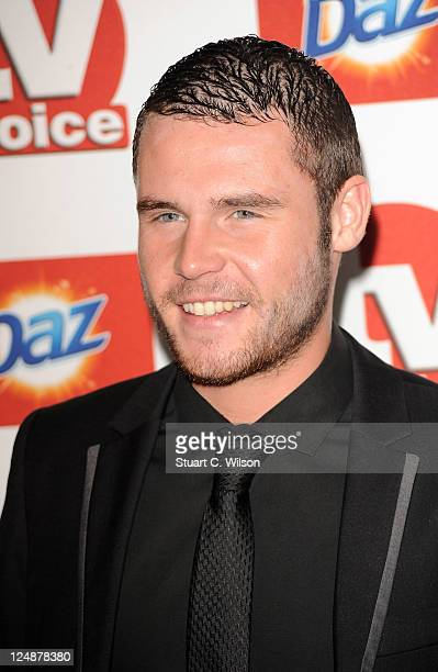Danny Miller attends the TVChoice Awards at The Savoy Hotel on September 13 2011 in London England