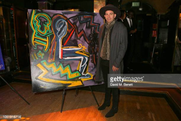 Danny Minnick attends the International Day of the Girl Child Charity Event At The Original Annabel's hosted by The Bardou Foundation at Annabel's on...