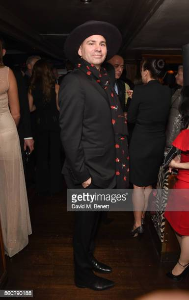 Danny Minnick attends the The BARDOU Foundation's International Day Of The Girl Gala in support of The Princes Trust at Albert's Club on October 11,...