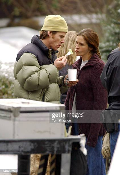 Danny Moder and wife Julia Roberts at the Brooklyn in New York City New York