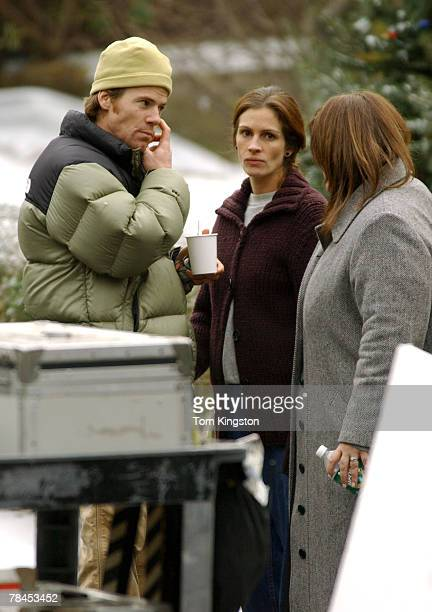 Danny Moder and wife Julia Roberts
