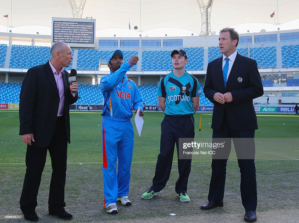 ICC Under 19 World Cup - India v Scotland