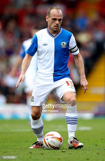 Danny Murphy of Blackburn in action during the npower Championship match between Bristol City and Blackburn Rovers at the Ashton Gate Stadium on...