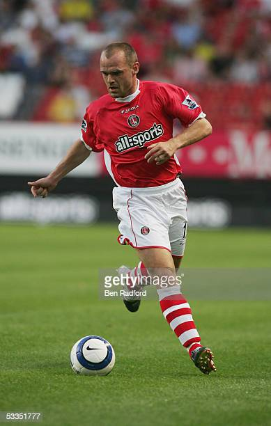 Danny Murphy of Charlton Athletic in action during the friendly match between Charlton Athletic and Feyenoord at held at The Valley on August 3, 2005...