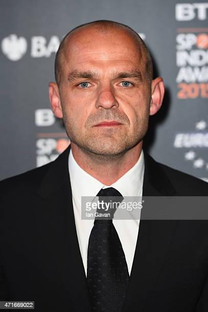 Danny Murphy poses on the red carpet at the BT Sport Industry Awards 2015 at Battersea Evolution on April 30 2015 in London England The BT Sport...