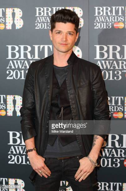 Danny O'Donoghue attends as the nominations for the BRIT Awards are announced at The Savoy Hotel on January 10 2013 in London England