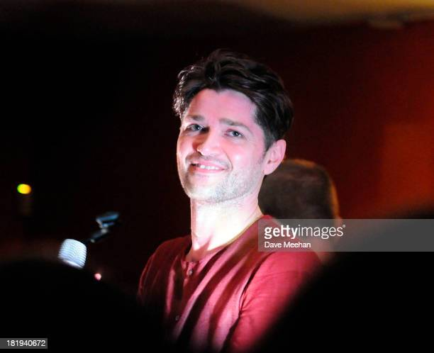 Danny O'Donoghue from The Script performs at The Ivy House as part of the fifth annual Arthur's Day celebrations on September 26 2013 in Dublin...