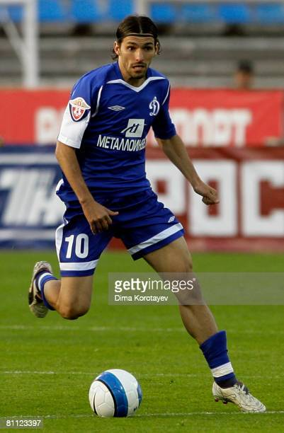 Danny of FC Dynamo Moscow in action during the Russian Football League Championship match between FC Dynamo and FC Terek at the Dynamo Stadium on May...