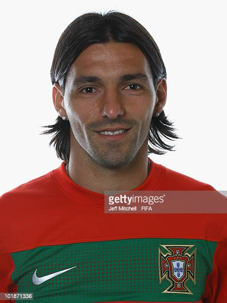 Danny of Portugal poses during the official Fifa World Cup 2010 portrait session at the Valley Lodge on June 7 2010 in Rustenburg South Africa