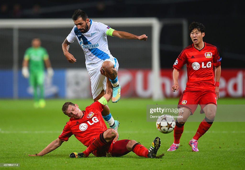 Bayer 04 Leverkusen v FC Zenit - UEFA Champions League : News Photo