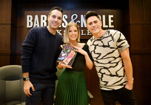 """CA: Ariana Madix And Tom Sandoval Celebrate New Book """"Fancy AF Cocktails"""" With Danny Pellegrino"""