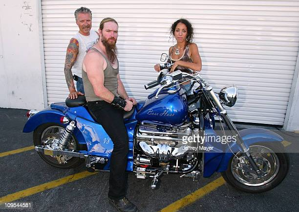 Danny PerkinsFounder BADD Zakk Wylde Dida Exec Dir of BADD before Ozzy Osbourne signs a 2003 Boss Hoss motorcycle for BADD Bikers Against Drunk...