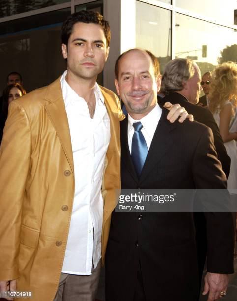 Danny Pino and Julio Mechoso during The Lost City Los Angeles Premiere Arrivals at Arclight Cinemas in Hollywood California United States