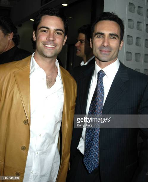 Danny Pino and Nestor Carbonell during The Lost City Los Angeles Premiere Arrivals at Arclight Cinemas in Hollywood California United States