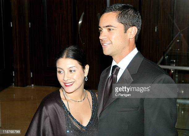 Danny Pino and wife Lilly during 2005 Imagen Awards at The Beverly Hilton Hotel in Beverly Hills Ca United States
