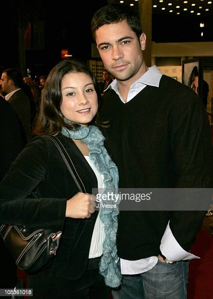 Danny Pino and wife Lilly during AFI FEST 2004 Presented by Audi The Sea Inside Red Carpet at Arclight Theater in Los Angeles California United States