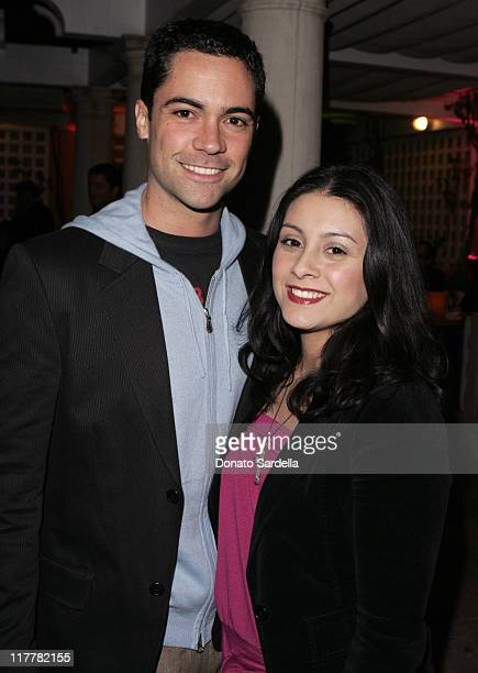 Danny Pino and wife Lilly during Hugo Boss Fall Winter 2005 Men's and Women's Collections Party Inside at Beverly Hills Hotel in Beverly Hills...