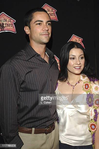 Danny Pino and wife Lilly during Molly Sims Hosts the 3rd Annual Night with the Friends of El Faro Benefit at Henry Fonda Theatre in Los Angeles...