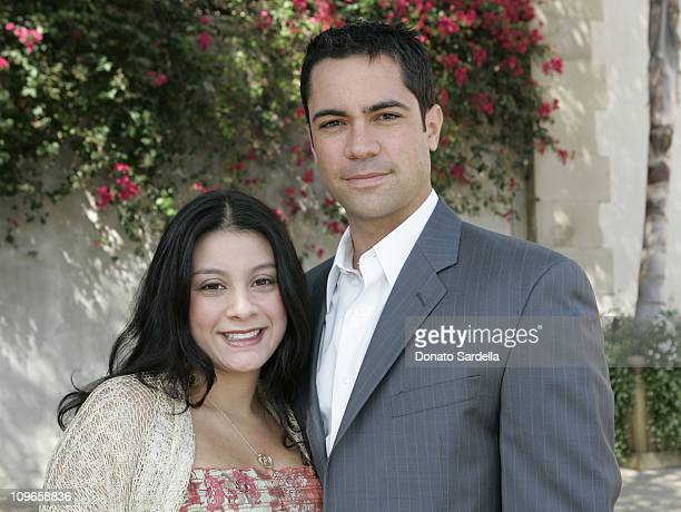 Danny Pino and wife Lilly Pino during Rape Treatment Center Annual Benefit October 2 2005 at Private Residence in Beverly Hiils California United...