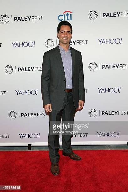 Danny Pino attends 2nd Annual Paleyfest New York Presents Law Order SVU at Paley Center For Media on October 13 2014 in New York New York