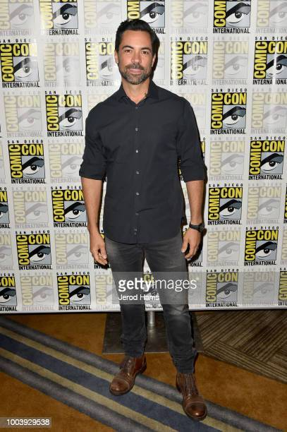 Danny Pino attends FX's Mayans MC press line during ComicCon International 2018 at Hilton Bayfront on July 22 2018 in San Diego California