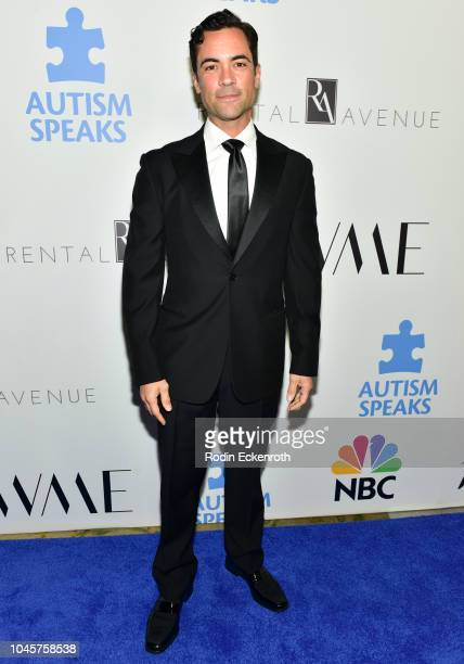 Danny Pino attends the 2018 Autism Speaks Into The Blue Gala at Beverly Hills Hotel on October 4 2018 in Beverly Hills California