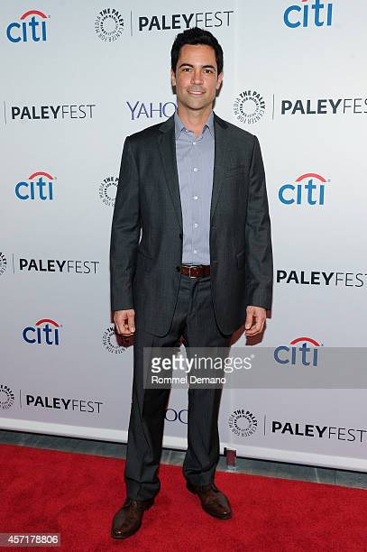 Danny Pino attends the 2nd Annual Paleyfest New York Presents Law Order SVU at Paley Center For Media on October 13 2014 in New York New York