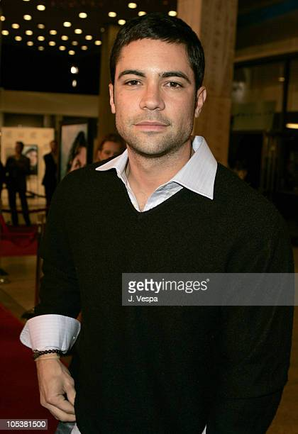 Danny Pino during AFI FEST 2004 Presented by Audi The Sea Inside Red Carpet at Arclight Theater in Los Angeles California United States