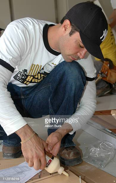 Danny Pino during WBTV Stars Help Hollywood for Habitat for Humanity Commemorate Its Fifth Anniversary in Los Angeles California United States