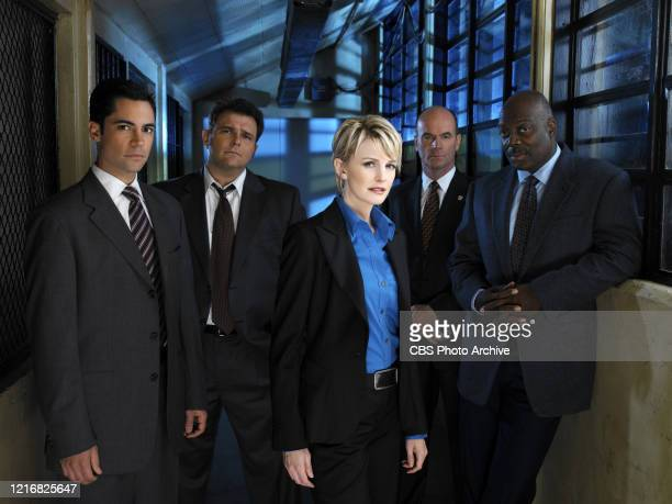 Danny Pino Jeremy Ratchford Kathryn Morris John Finn and Thom Basrry star in the third season premiere of the CBS television series Cold Case
