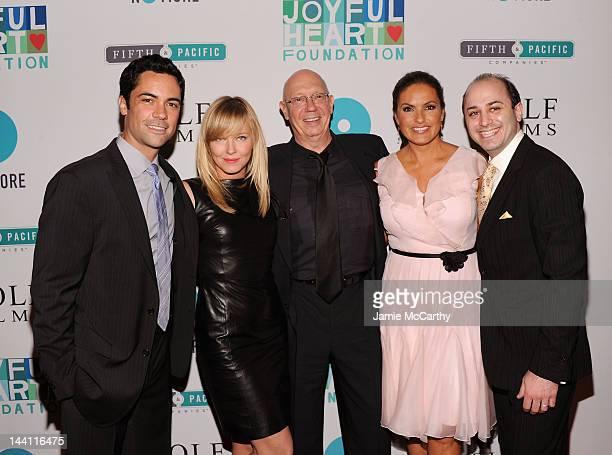 Danny Pino Kelli Giddish Dann Florek Mariska Hargitay and Jonathan Strauss attend The Joyful Heart Foundation Presents The 5th Annual Joyful...