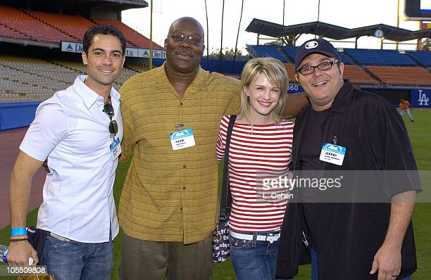 Danny Pino Thom Barry Kathryn Morris and Jeremy Ratchford of Cold Case