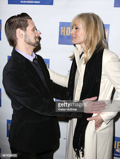 Danny Pintauro and Judith Light attend the Broadway Opening Night Performance of 'Honeymoon in Vegas' at the Nederlander Theatre on January 15 2014...