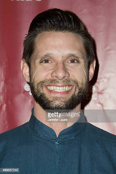 Danny Pintauro arrives at The Abbey Food and Bar's 6th Annual Tree Lighting at The Abbey on December 1 2015 in West Hollywood California